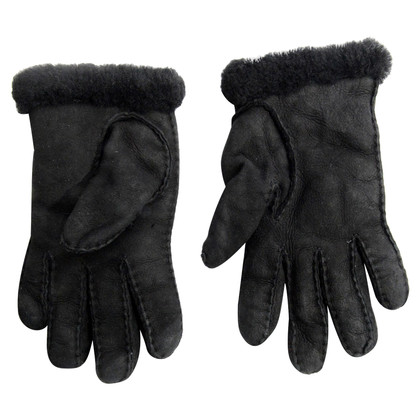 UGG Australia Black wool gloves