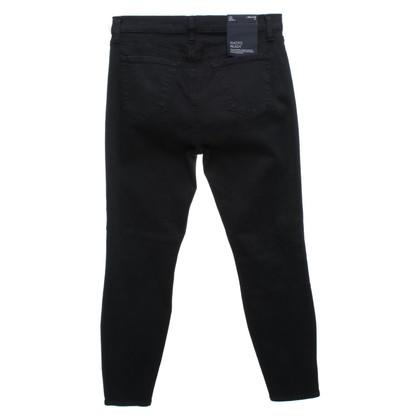 J Brand Jeans con finiture a borchie