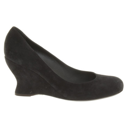Bottega Veneta Wedges in Schwarz
