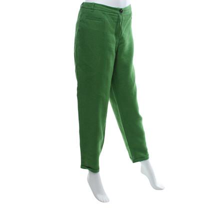 Max Mara Pantaloni in verde