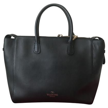 Valentino Va Va Voom studded top handle bag