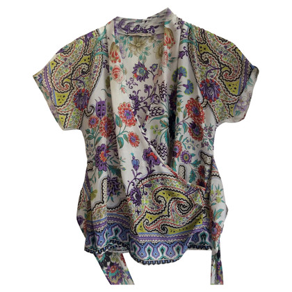 Etro Wikkel blouse in zijde