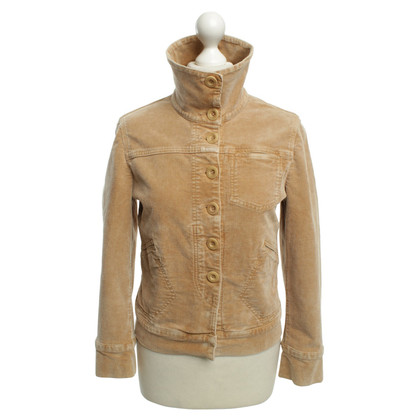 Closed Jacket in beige color