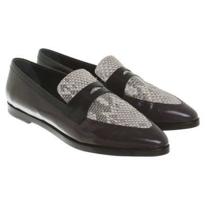 Tod's Loafer with snakeskin