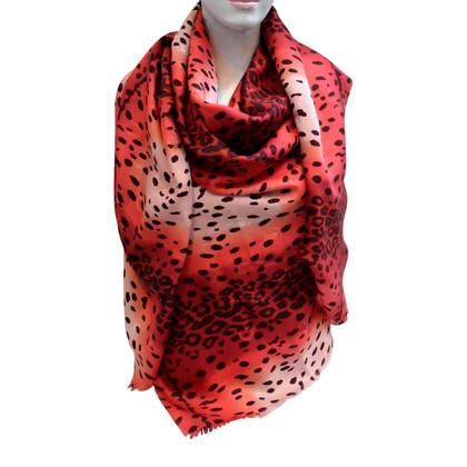 Christian Dior Zijden sjaal met wol