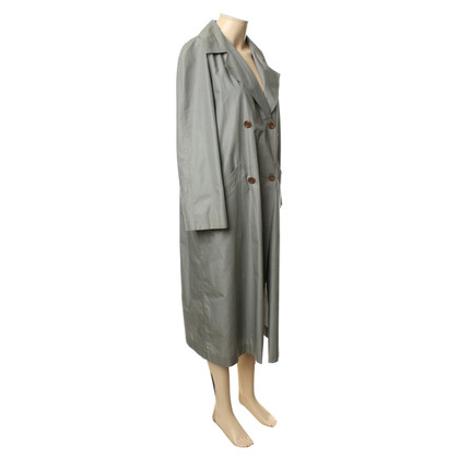 Hermès Trench coat in grey blue