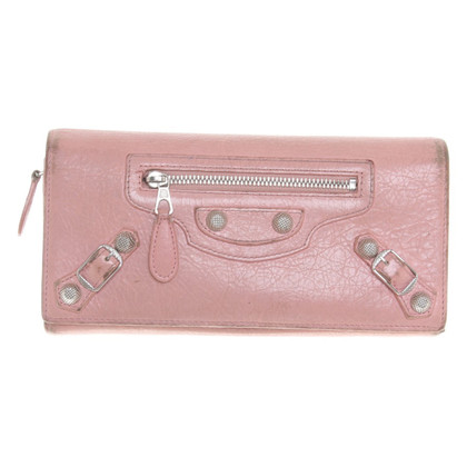 Balenciaga Wallet in pink