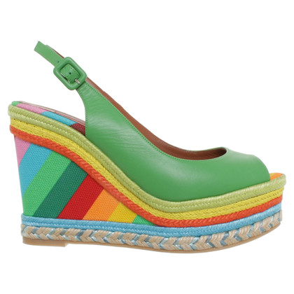 Valentino Wedges in multicolor