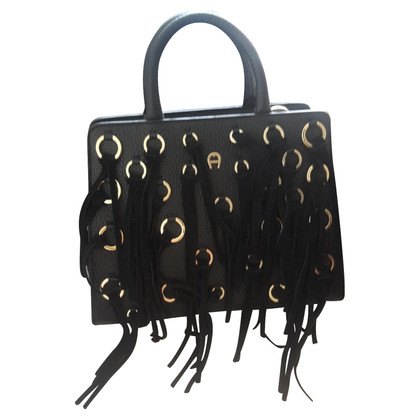 Aigner Handbag with fringes