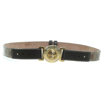 Gucci Guccissima belt in beige Brown
