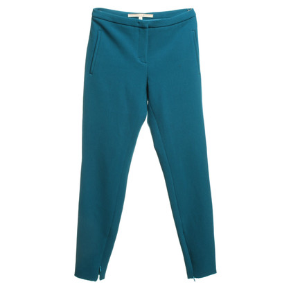 Schumacher trousers in turquoise