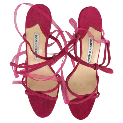 Manolo Blahnik Sandals with lacing
