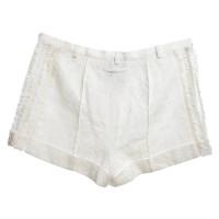 Jean Paul Gaultier Cremefarbene Shorts
