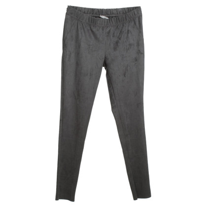 Juvia Pants in suede look