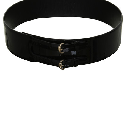 Gucci Patent leather waist belt