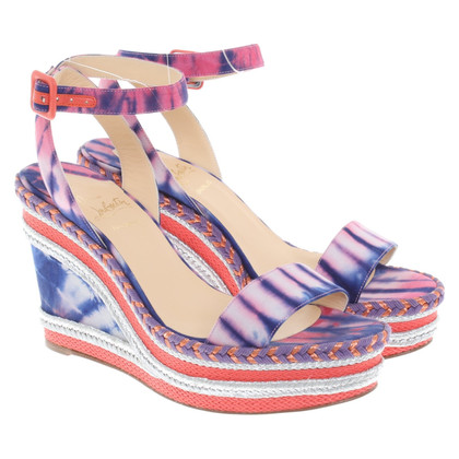 Christian Louboutin Sandals with wedge heel