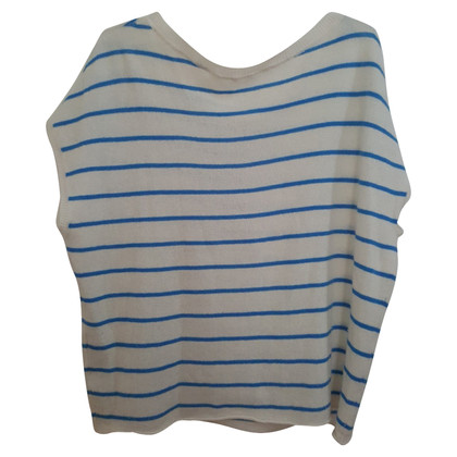 Duffy Cashmere sweater with short sleeves
