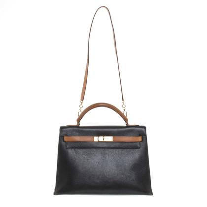 """Hermès """"Kelly Bag 32"""" in bicolor"""