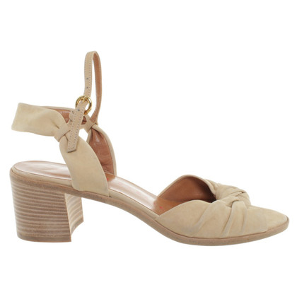 Walter Steiger Sandals in Beige