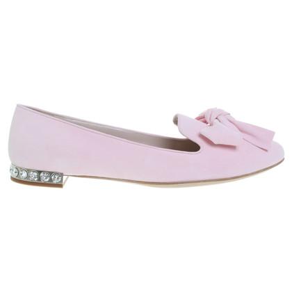 Miu Miu Loafers in pink