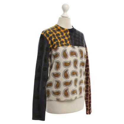 Kenzo pull en laine avec motif