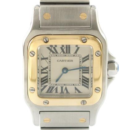 """Cartier """"Santos Lady Quartz Revision"""""""