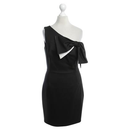 Valentino One Shoulder Dress in Black