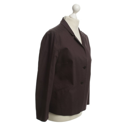 Jil Sander Blazer in Bordeaux