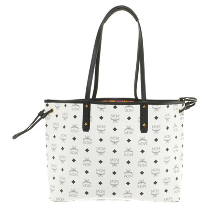 "MCM ""Project Visetos omkeerbare Shopper Medium White"""