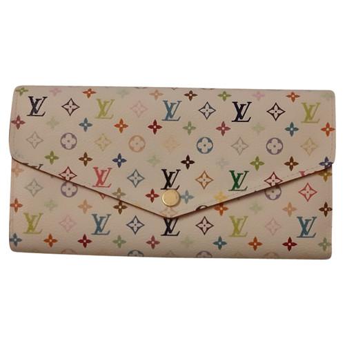 Louis Vuitton Sac à main Portefeuille en Cuir en Blanc - Acheter ... aee0d7e15ae