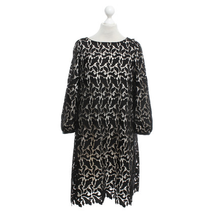 Armani Collezioni Dress in black / cream