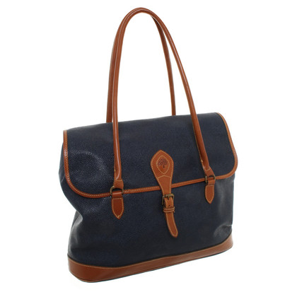 Mulberry Bag in blue / brown