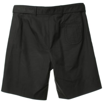 Miu Miu Pantaloncini con dettaglio di macinazione