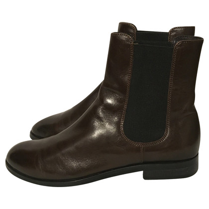 Navyboot Ankle boot Brown