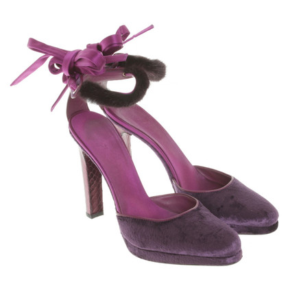 Gucci pumps in Violet