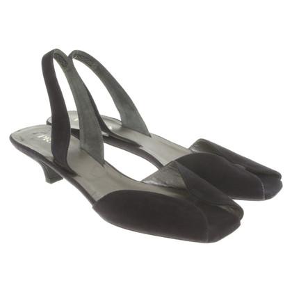 Prada Sandaletten aus Wildleder