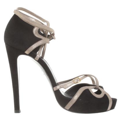 Hermès Sandalen in zwart
