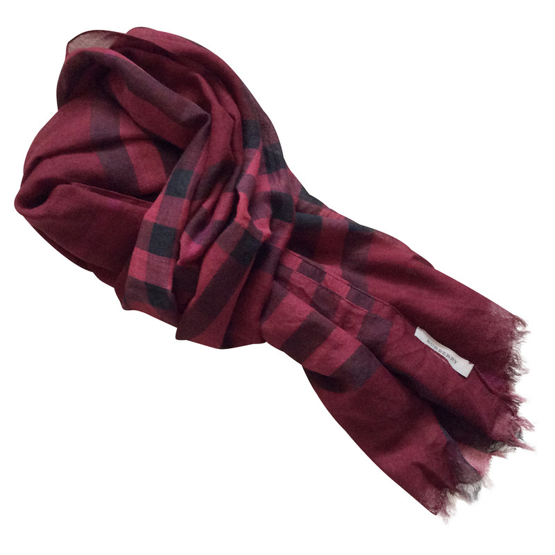 Burberry Schal aus Wolle/Seide