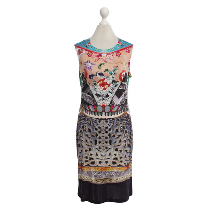Mary Katrantzou Silk dress with pattern