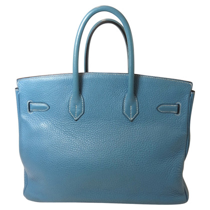 "Hermès ""Birkin Bag 35"" from Clemence Leather"