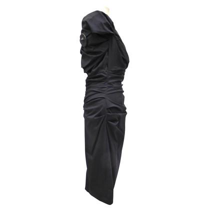 Talbot Runhof Dress with Ruffles