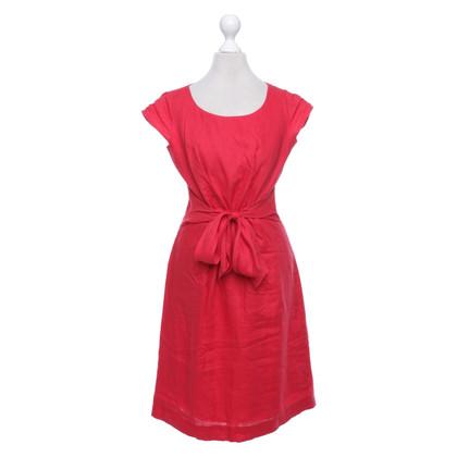 Hobbs Linen dress in red