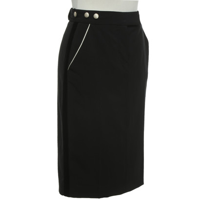 Paul Smith skirt in black / cream