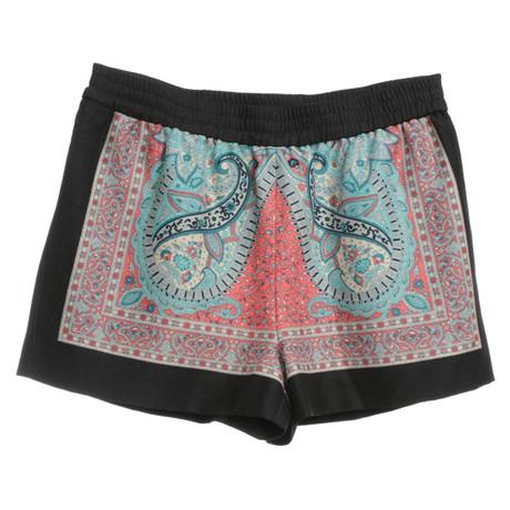 BCBG Max Azria Bunte Shorts Bunt / Muster