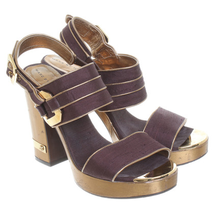 Marc by Marc Jacobs Sandals in Bordeaux