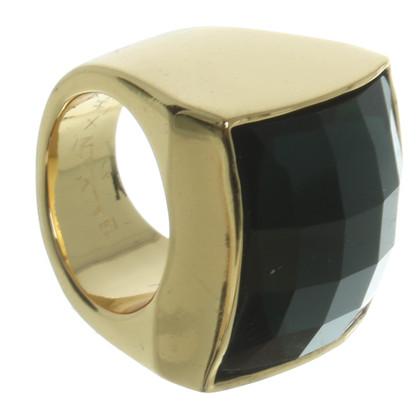 Balmain X H&M Ring in Smaragd-Grün