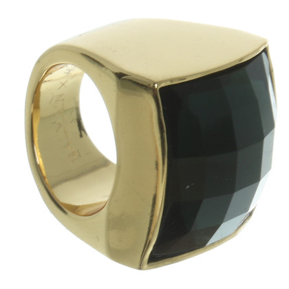 Balmain X H&M Ring in emerald groen