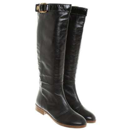Chloé Smooth leather boots