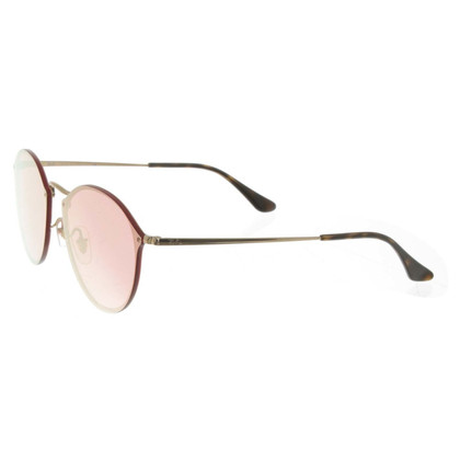 """Ray Ban Sunglasses """"Blaze"""" with red glasses"""