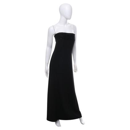 Andere merken Mani - maxi-jurk met parelborduurwerk